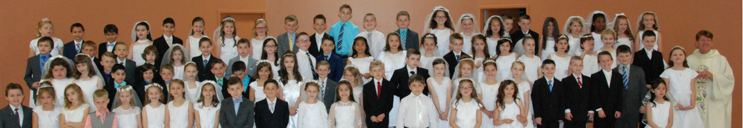 First Communion Photo 2017